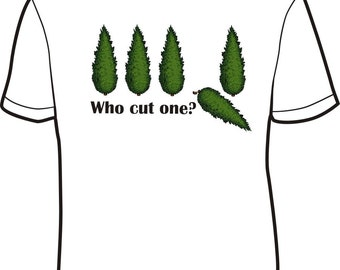 Who cut one tee shirt