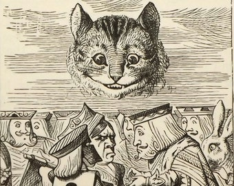 Alice in Wonderland book illustrated by John Tenniel Alice's Adventures in Wonderland by Lewis Carroll
