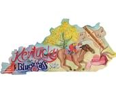 Kentucky, The Bluegrass State, Art Print