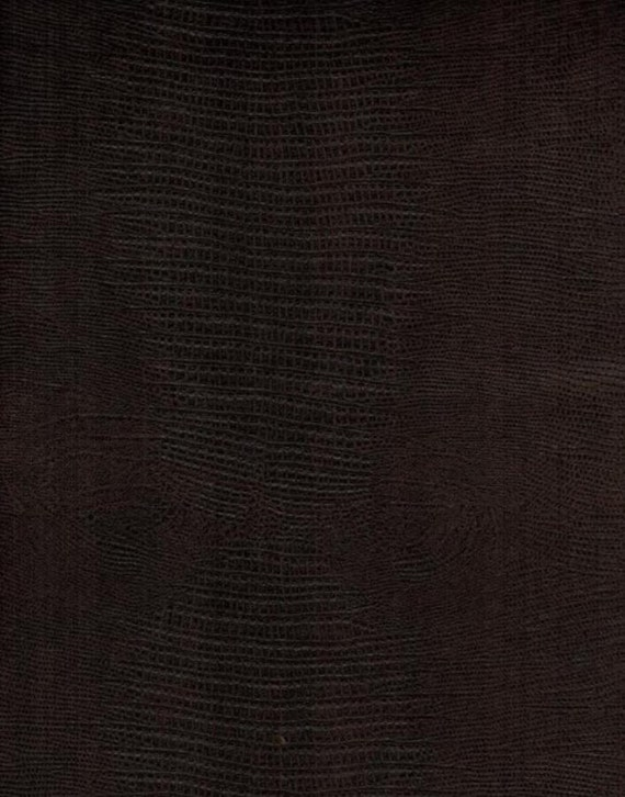 charbrown alligator disressed upholstery faux leather vinyl fabric per yard 54 wide from. Black Bedroom Furniture Sets. Home Design Ideas