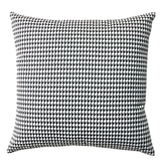 Decorative Throw Pillows Black and White by ModernalityHomeDecor