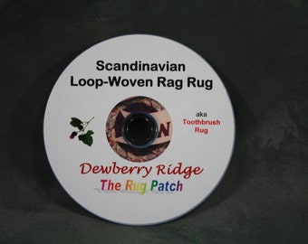 CD - Scandinavian Loop-Woven Rag Rug