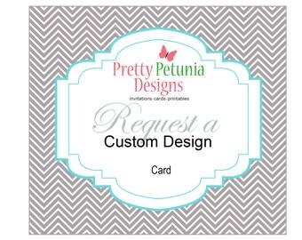 Custom Designed - Card