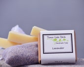 Lavender Shea Butter Soap, Handmade, All Natural, Cold Process Soap, Vegan