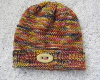 Child's wool knit hat
