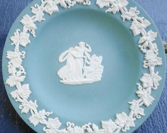 Vintage Green Jasperware By Wedgewood Small Plate