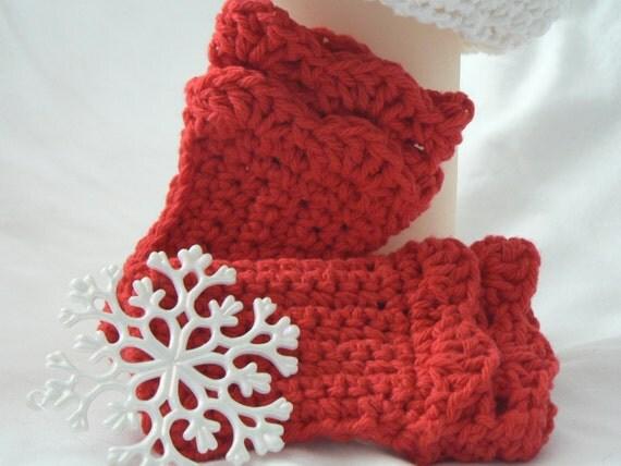 Crochet Pattern Wrist Warmers Girls Ruffled Wristers Fingerless Gloves Fall Fashion Winter Accessories Easy Crochet Pattern