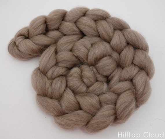 BFL& Baby Camel Spinning Fiber, Undyed, Natural Coloured Wool 100g