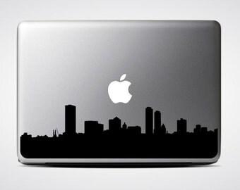 Millwaukee Skyline Macbook Decal #1 / Macbook Sticker / Laptop Decal