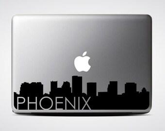 Phoenix Skyline Macbook Decal #3 / Macbook Sticker / Laptop Decal