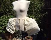 Calico 18th Century Costume Panniers - Handmade
