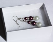 Bridesmaid Gift, Pearl Jewelry, Bridal Pearl Earrings, Wedding Jewelry