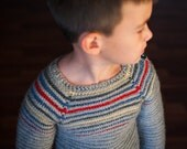 Striped Pullover Crochet Pattern No. 4