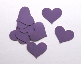 Lavender Heart Stickers