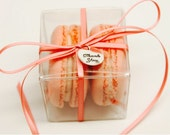 20 Macarons Favor Box set
