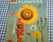 the how and why wonder book of wild flowers, vintage 1972 children's nonfiction book