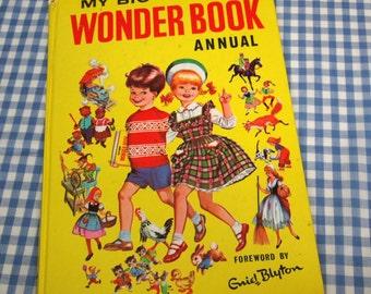 my big wonder book annual, vintage 1957 book