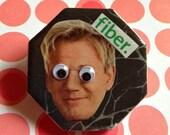 Gordon Ramsay Fiber Googly Eye Magnet