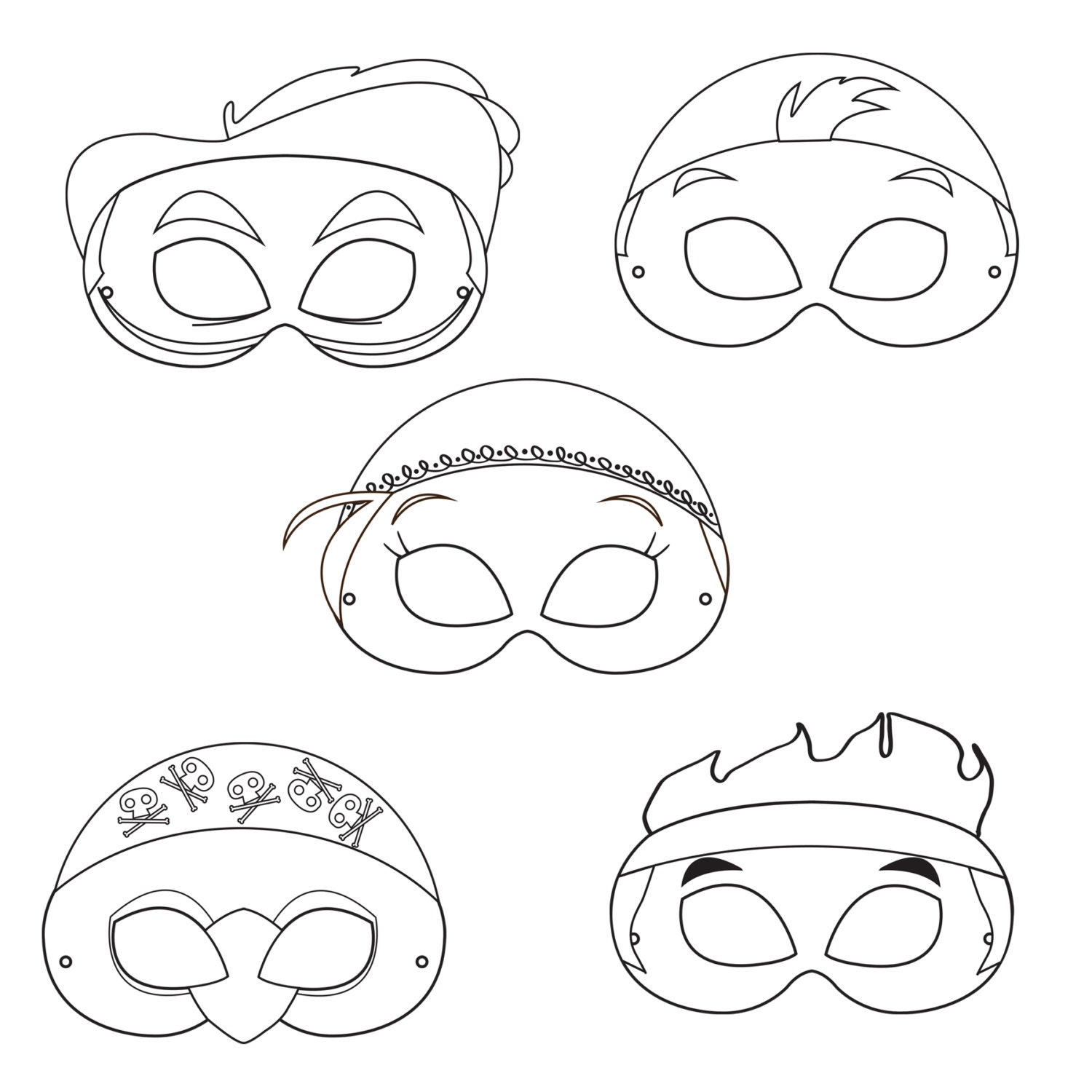 Uncategorized Pirate Masks To Print neverland pirates printable coloring masks pirate