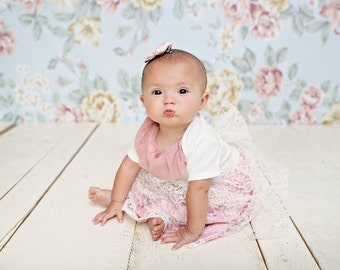 Shabby Chic Infant Lace Dress