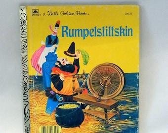 Rumpelstillskin - A Little Golden Book - Vintage 1986 -  ISBN 0-307-03004-0