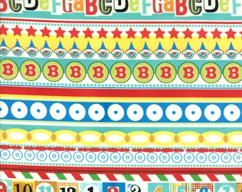 Apple Jack fabric collection by Tim and Beck Border Fabric 39511-13  - 1 Yard