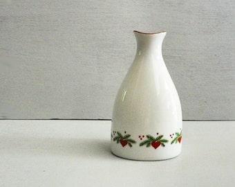 Porsgrund Hearts & Pines Peanut Shaker, Vase, Christmas China