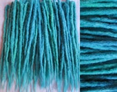 CUSTOM long crochet synthetic dreadlock extensions - natural look, double ended, 40 pieces.