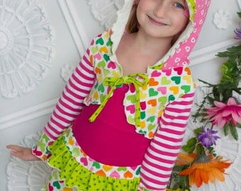 Shelby's Knit Bolero PDF Pattern Sizes 6-12m to 8 girls