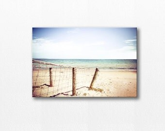 beach photography canvas print nautical decor 12x18 24x36 fine art photography ocean canvas print coastal canvas wrap pastel large canvas