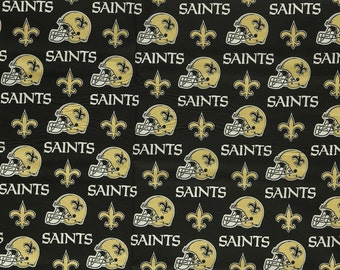 NFL New Orleans Saints 100%Cotton V2 Fabric