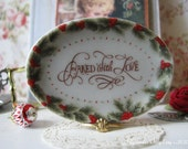 Baked with Love LG Platter/Tray for Dollhouse