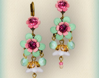 Orly Zeelon Jewelry - The floral globe earrings 207805-4548