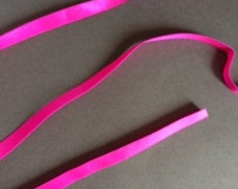 5yds -  Neon Pink Strap Elastic