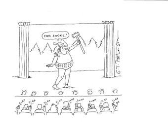 For Sooke cartoon point of interest cartoon