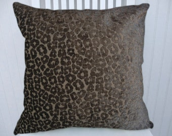 Grey/Smoke Velvet Pillow Cover--Decorative Throw Pillow Accent Pillow--18x18 20x20 or 22x22 Accent Pillow
