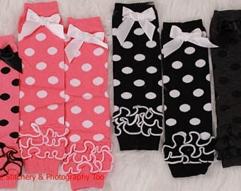 Polka Dot Leg Warmers 5 colors