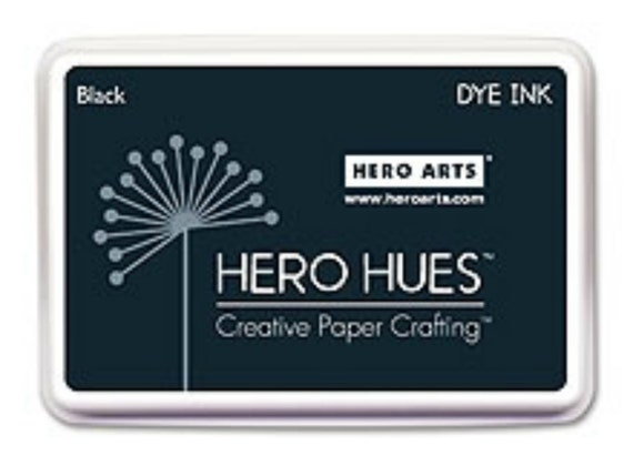 Hero Arts Memories Black Dye Ink AF101