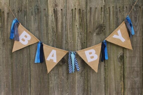 baby shower banner burlap baby banner custom baby banner for baby