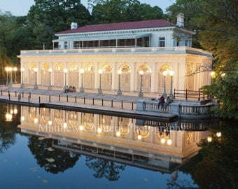 Prospect Park Boathouse at Night - New York City Photography