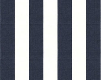 Horizontal or Vertical Navy Stipe and Minky Boppy Cover
