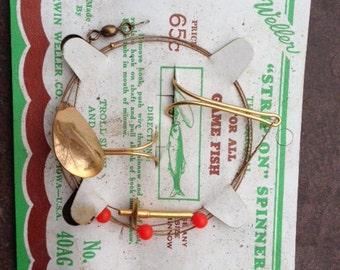 Vintage Weller Strip-on Spinner No 40AG