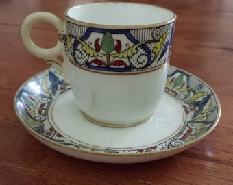 Vintage Bone China Tea Cup and Saucer