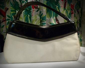 Elegant 1950 Boomerang Handbag