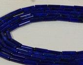 Lapis Lazuli 13.4x4.4mm Lapis Lazuli Beads Natural Gemstone Beads Jewelry Making Supplies