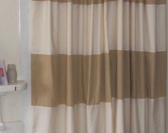 Cream tan curtains   Etsy