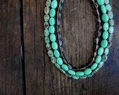 Boho Multi Strand Necklace Wedding Sundance style jewelry