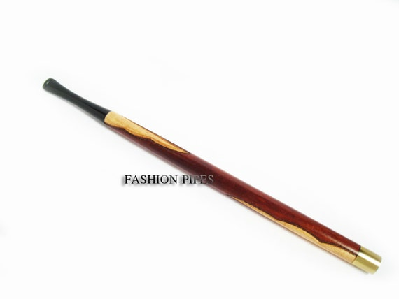 "Long Fashion Cigarette Holder ""Audrey Hepburn"" Handcrafted Cigarette Holders  LADY SUPER LONG 8.7'' /  220 mm. Fits Regular Cigarettes"