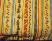 Woodland stripe fabric