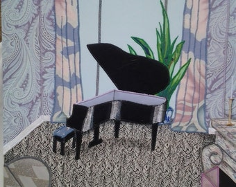 The Grand Piano wall hanging